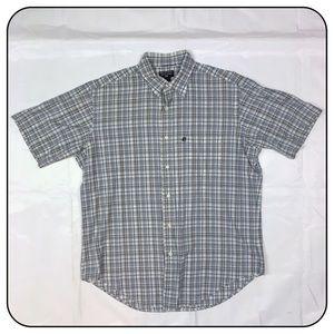 Ralph Lauren Medium Button Up Short Sleeve Plaid